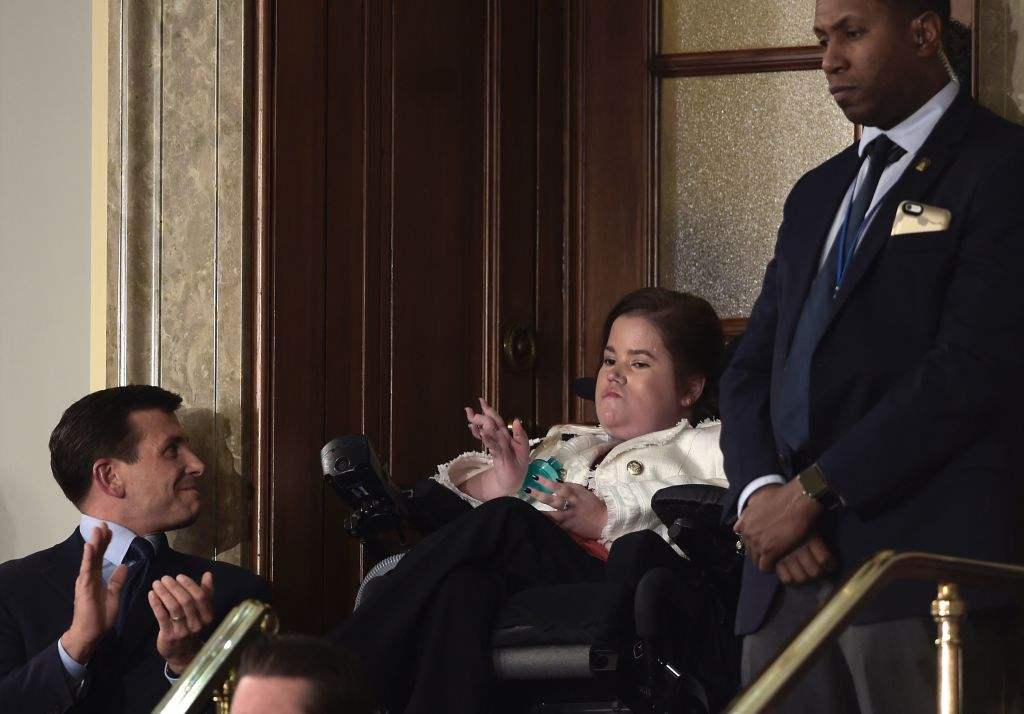 Megan Crowley recognized during state of the union