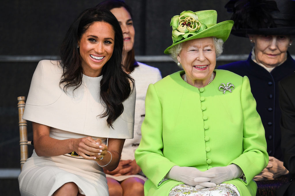 Meghan Markle, The Duchess Of Sussex Undertakes Her First Official Engagement With Queen Elizabeth II