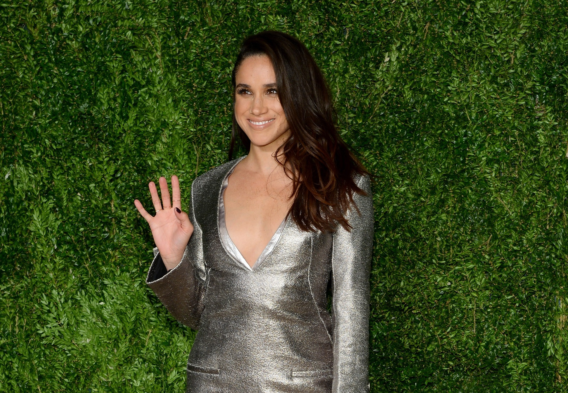 Meghan Markle attends the 12th annual CFDA/Vogue Fashion Fund Awards