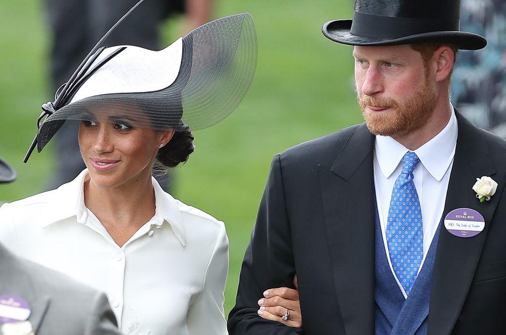 Meghan and Harry royal ascot