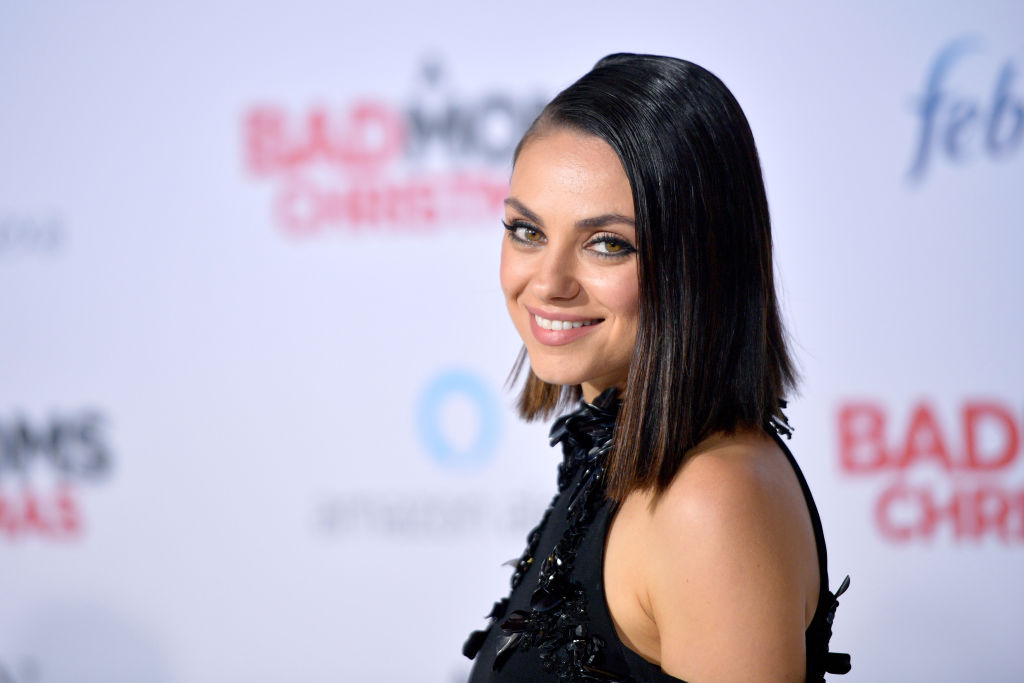 "Mila Kunis attends the premiere of STX Entertainment's ""A Bad Moms Christmas"""