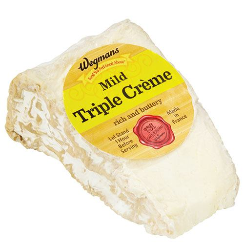 wegman's Mild Triple creme cheese