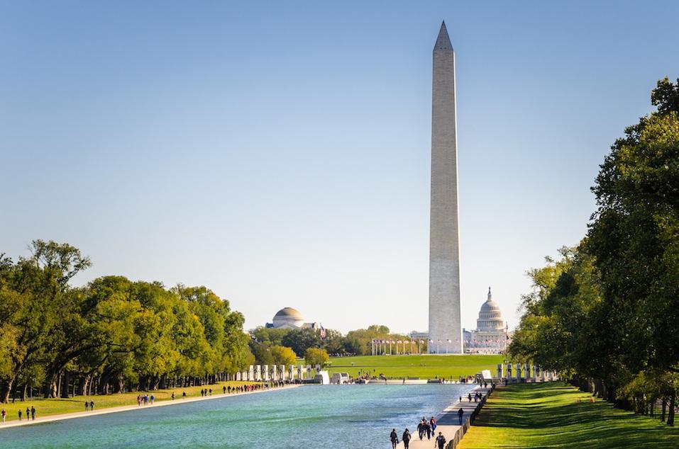 National Mall in Washington DC