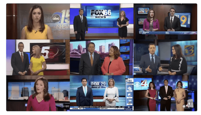 Compilation of news scripts.