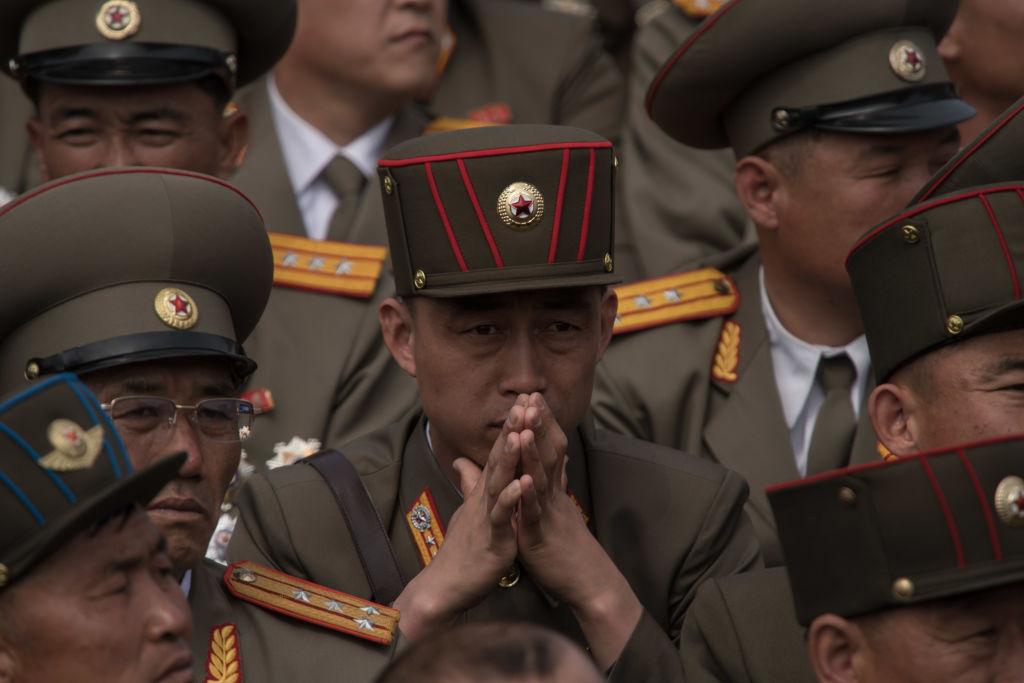 Korean People's Army soldiers