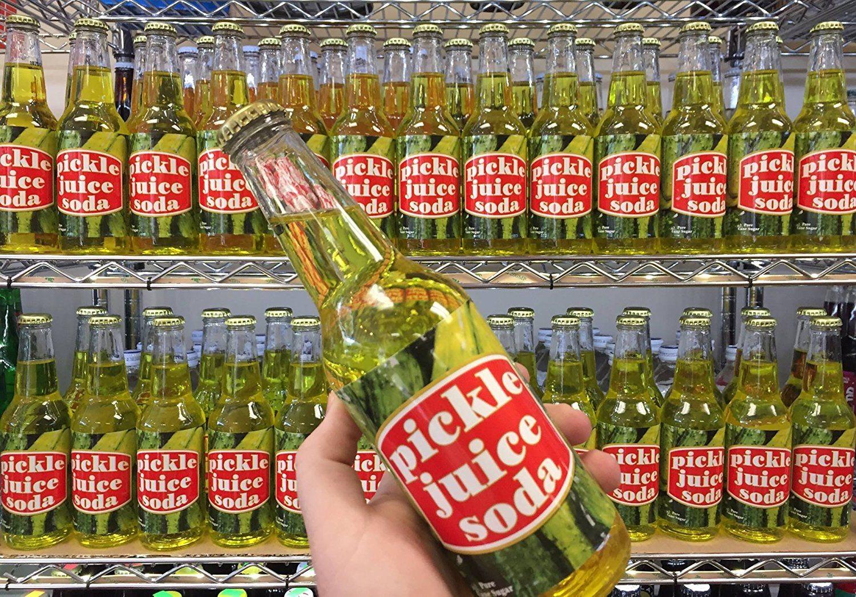 Pickle Juice Soda Pop