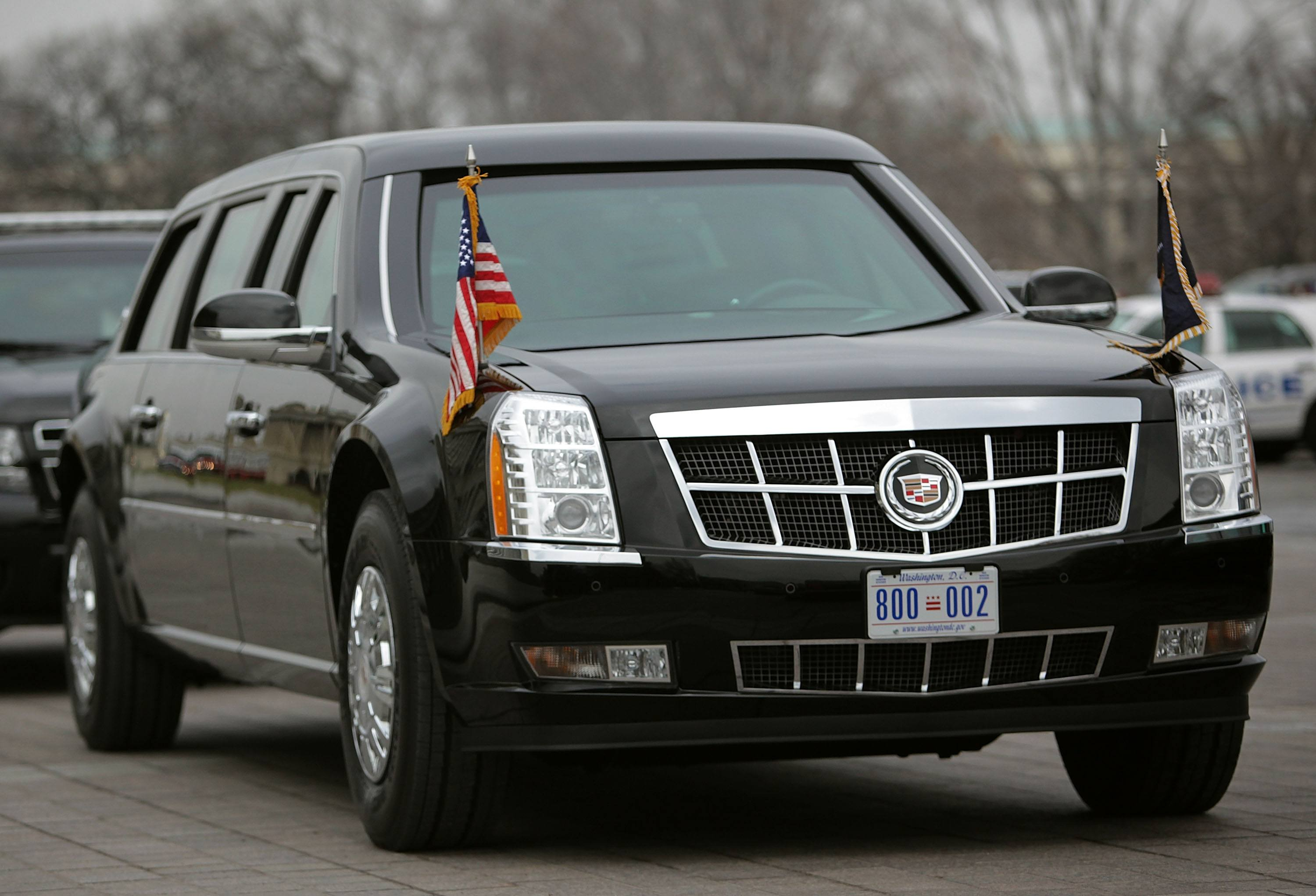 Presidential Limo AKA 'The Beast'