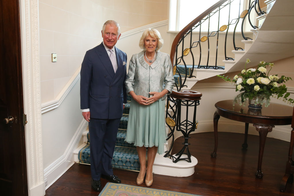 Prince Charles, Prince of Wales and Camilla, Duchess of Cornwall at Hillsborough Castle