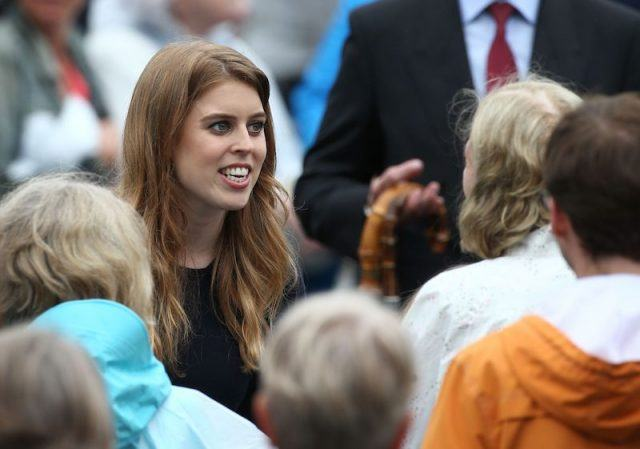 Princess Beatrice at an event.