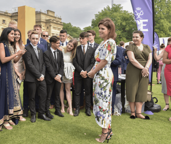 Princess Eugenie at a charity event.