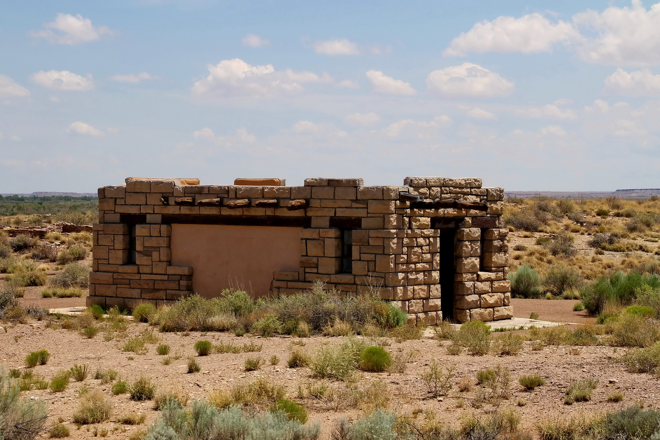 Puerco Pueblo Petrified Forest Arizona