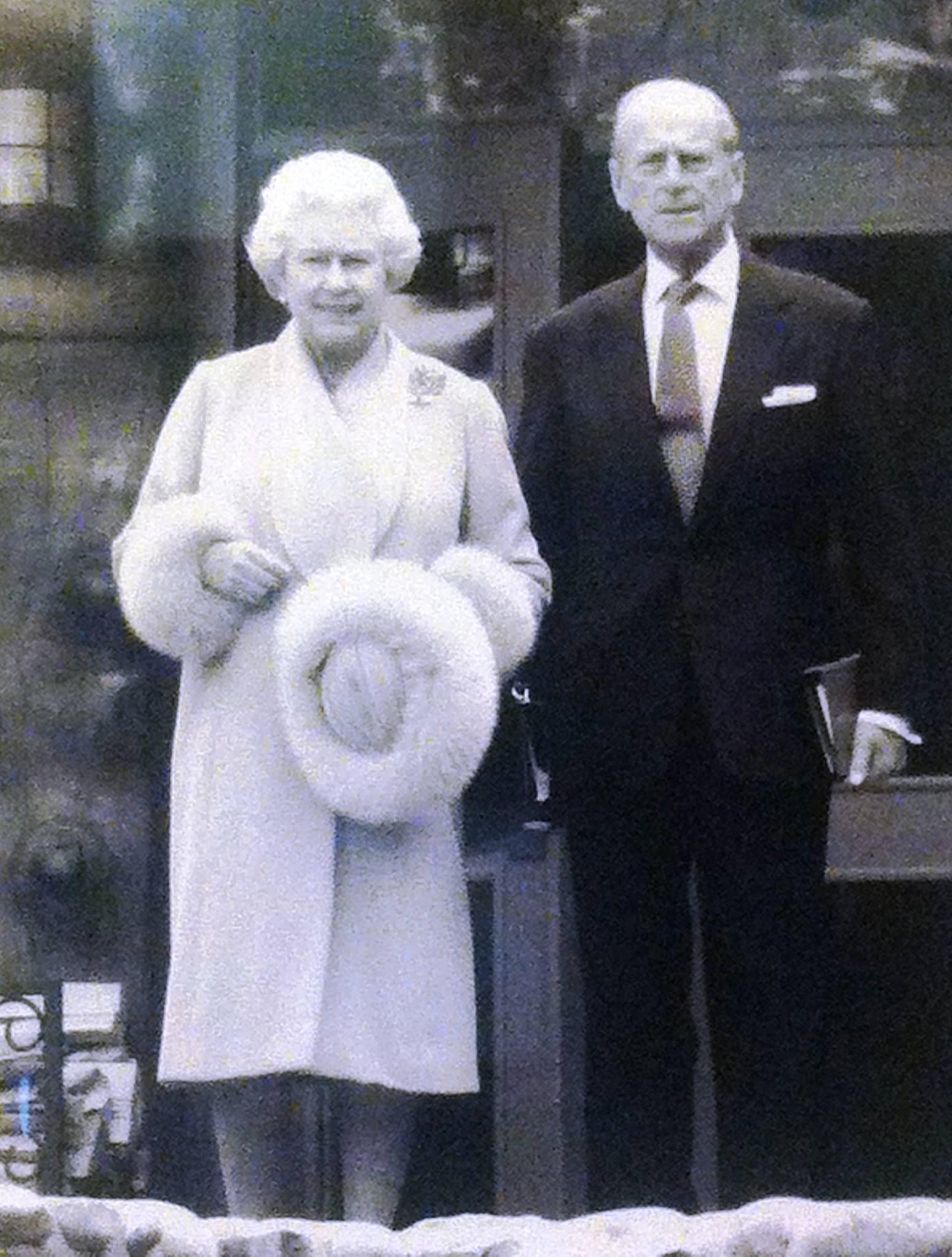 Queen Elizabeth Prince Philip Royal Retreat Fairmont Jasper Park Lodge