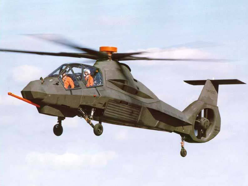 RAH-66 Comanche Armed Reconnaissance and Attack Helicopter