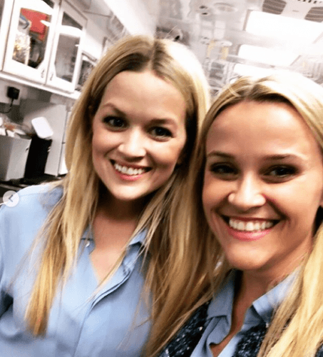 Reese Witherspoon and body double