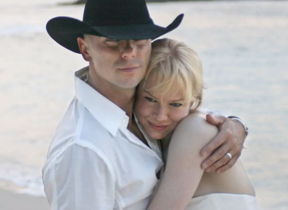 Kenny Chesney and Renee Zellweger's wedding photo