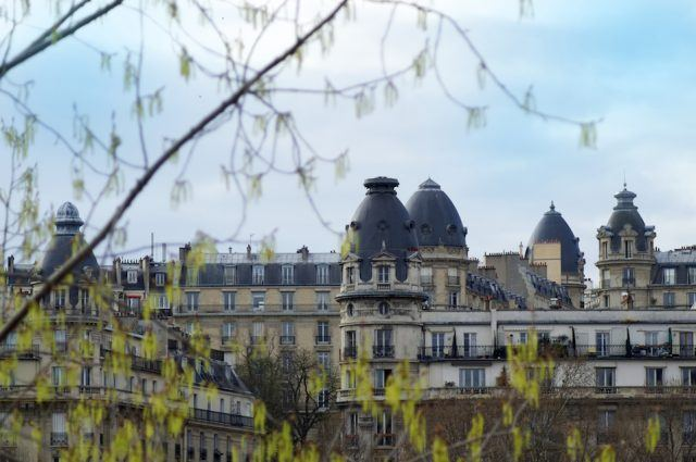 impressive architecture of paris