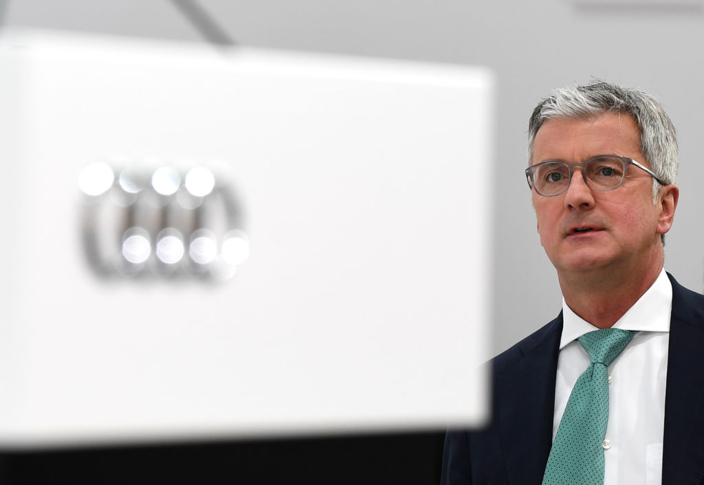 Rupert Stadler, CEO of German car maker Audi