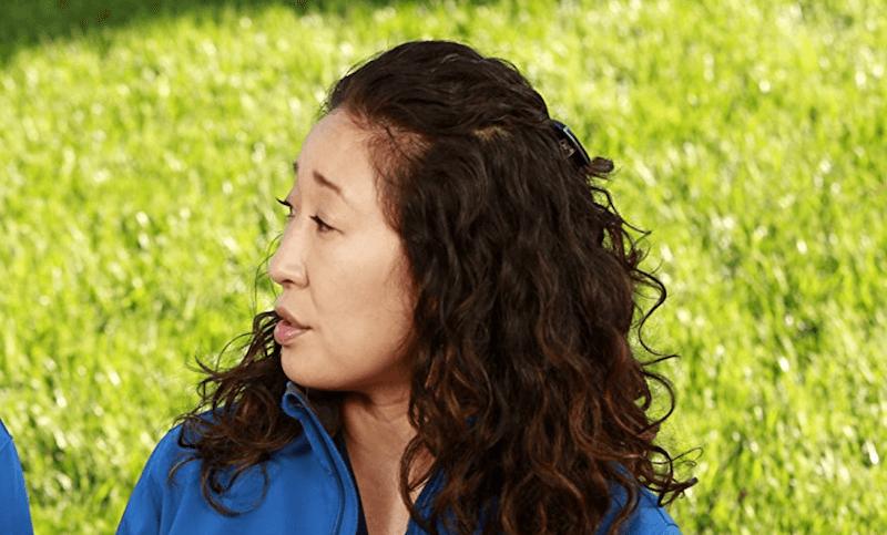 Sandra Oh as Dr. Cristina Yang on 'Grey's Anatomy.