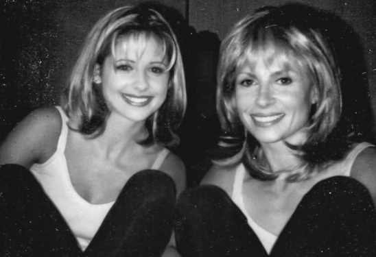 Sarah Michelle Gellar and Sophia Crawford