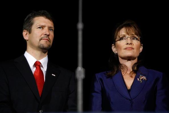 Sarah Palin and husband Todd Palin