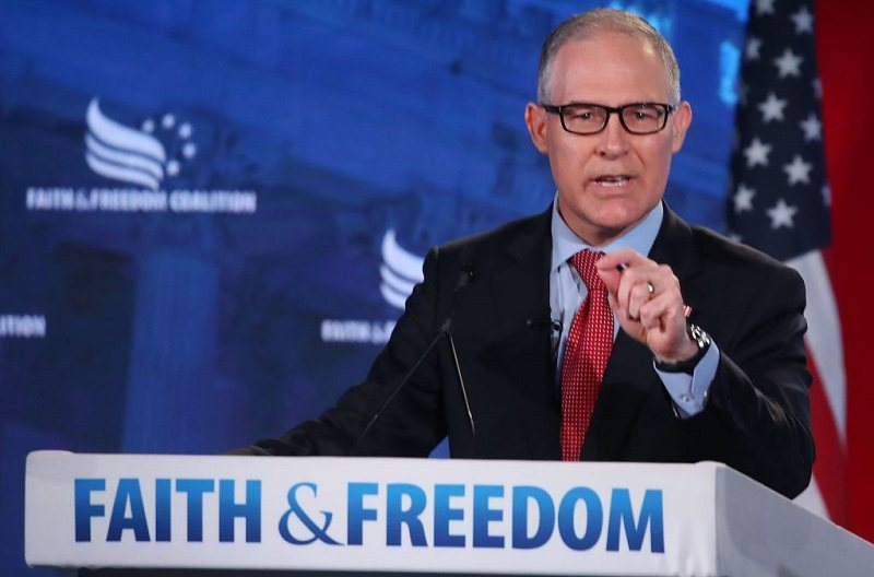 EPA Administrator Scott Pruitt Addresses Faith And Freedom Coalition Conf. in June 2018
