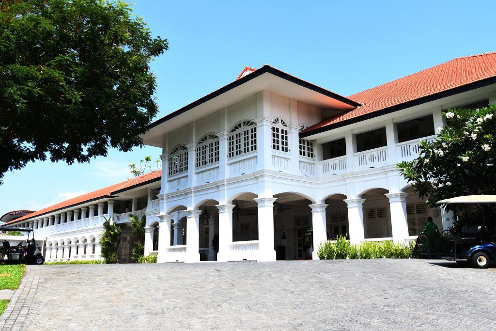 Capella hotel in Sentosa island resorts in Singapore