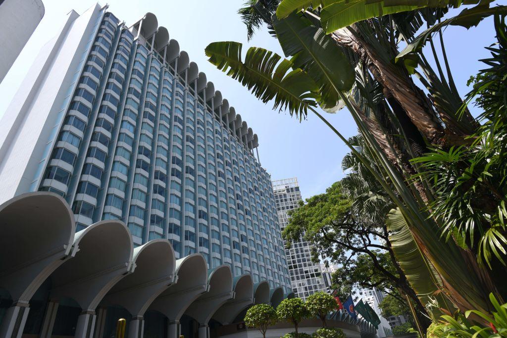The Shangri-La hotel