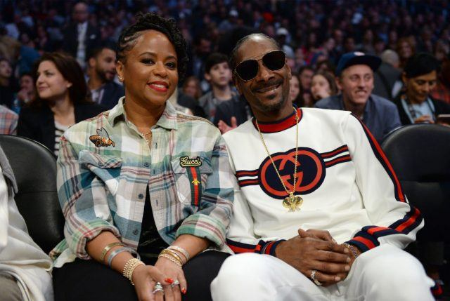 Snoop Dogg and wife Shante Broadus