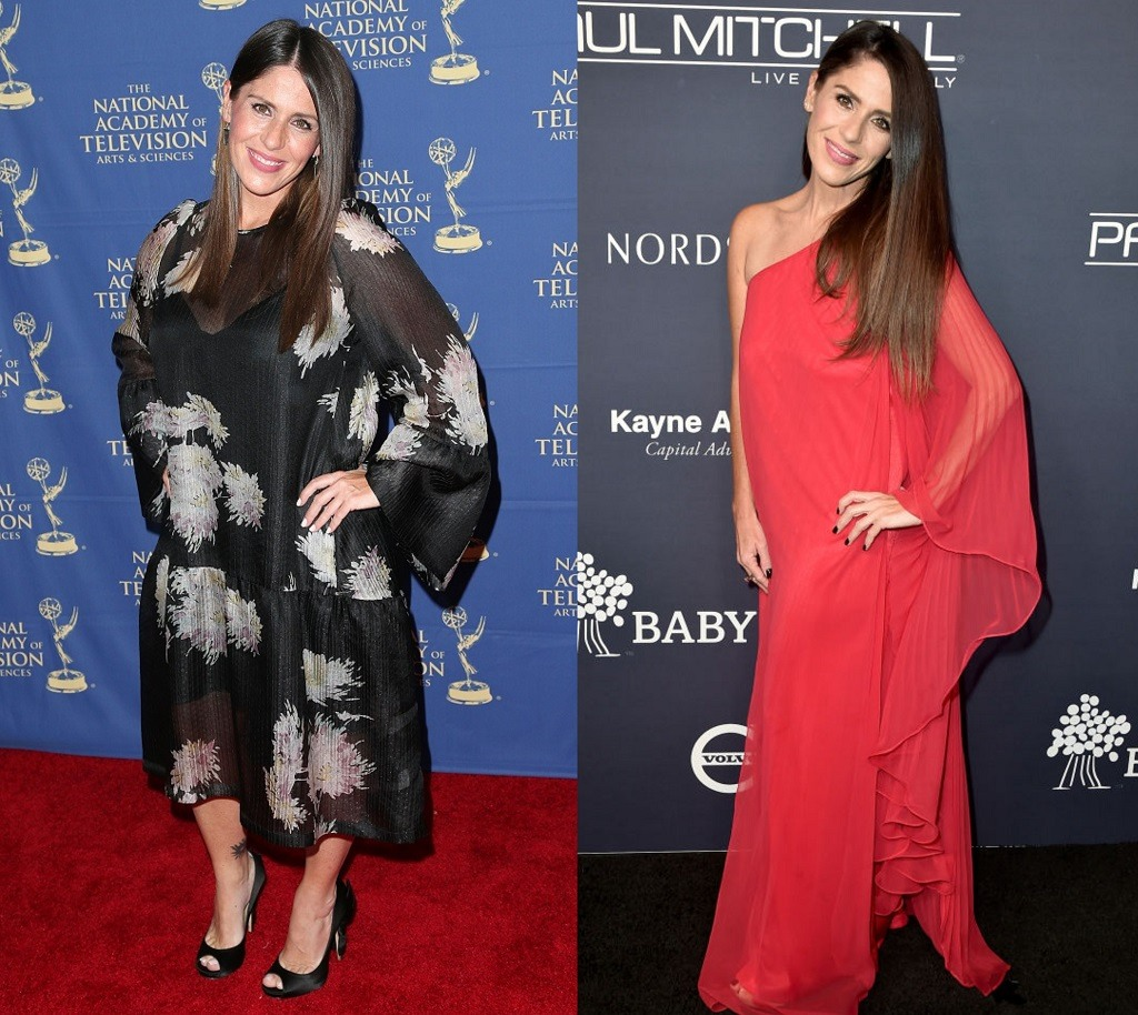 Soleil Moon Frye before and after her weight loss