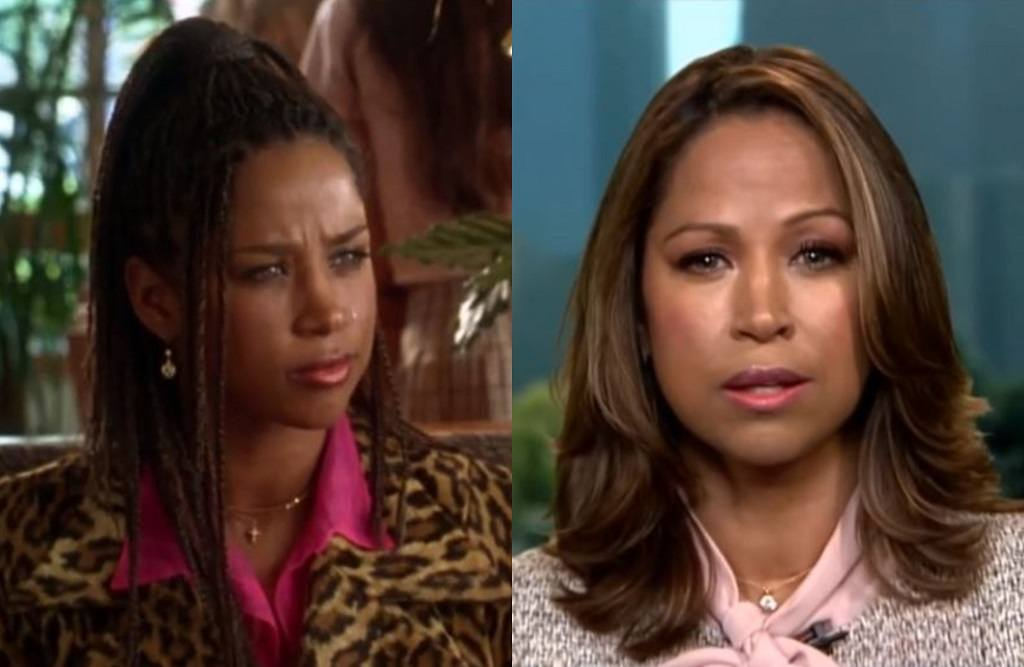 Stacey Dash in Clueless and now