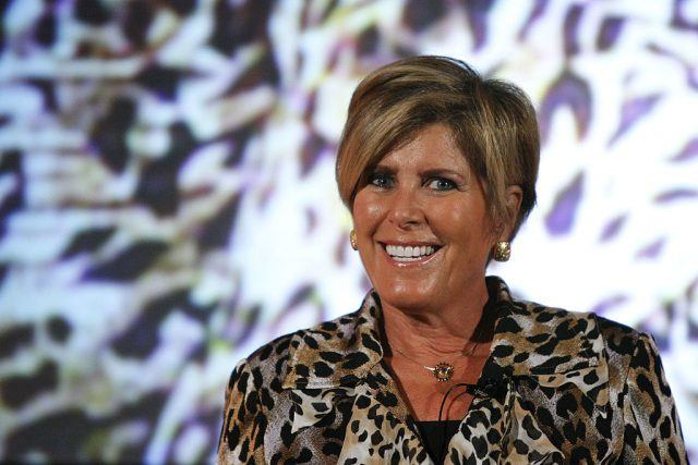 Suze Orman speaks at the Women in Cable Telecommunications Conference