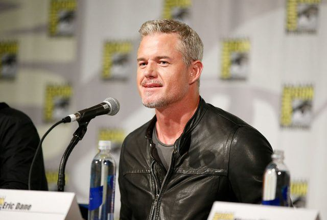 Actor Eric Dane speaks onstage at 'The Last Ship' panel during TNT at Comic-Con International: San Diego