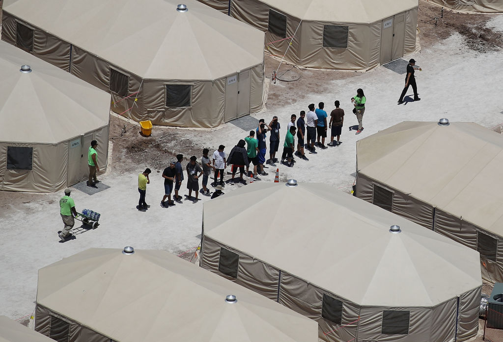 New Tent Camps Go Up In West Texas For Migrant Children Separated From Parents