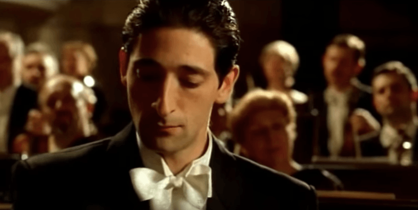 "Adrien Brody in ""The Pianist"""