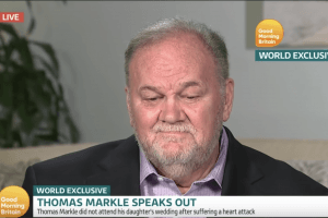 Thomas Markle Reveals His True Feelings About Missing the Royal Wedding in TV Interview