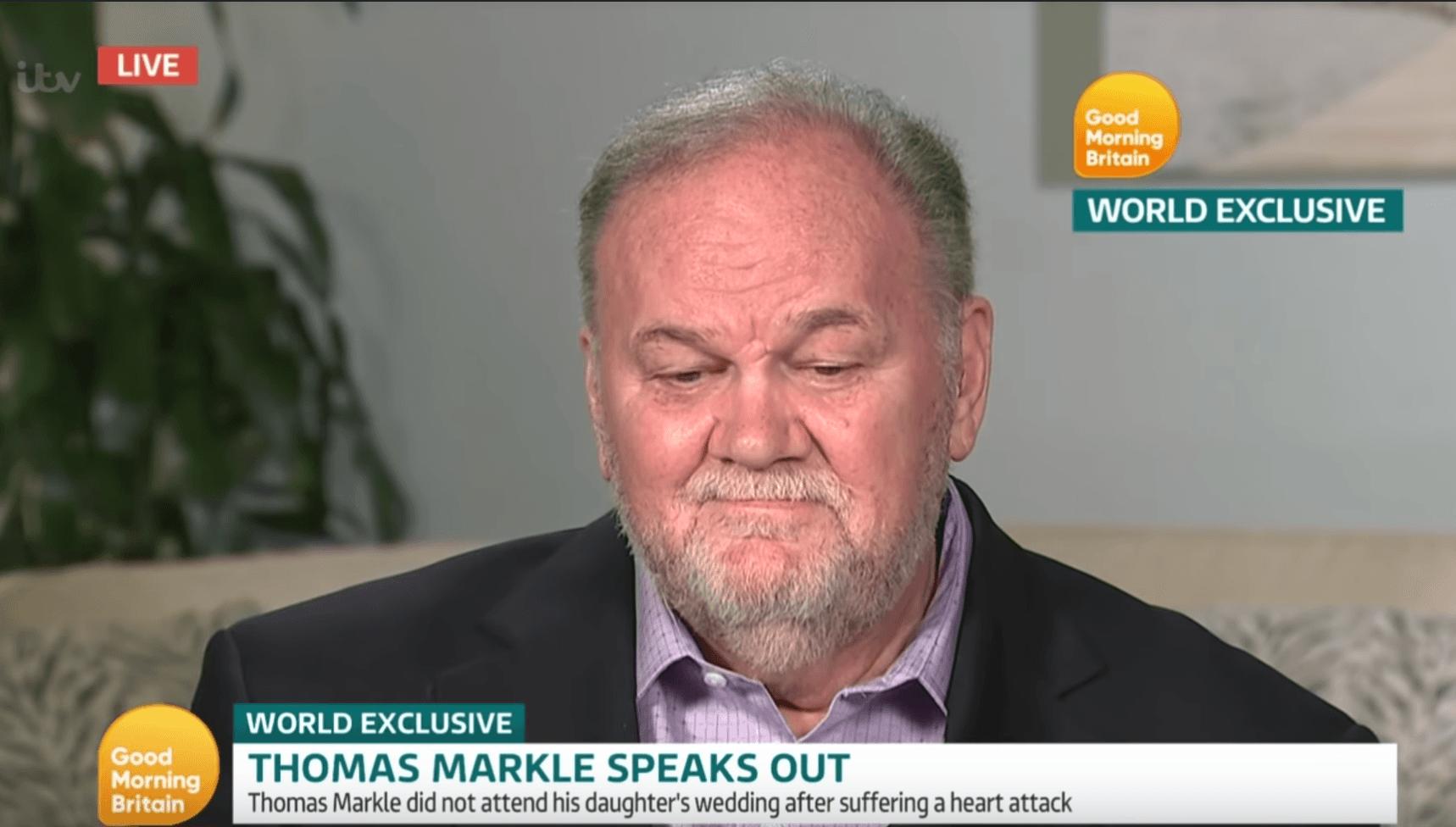 Thomas Markle on 'Good Morning Britain'