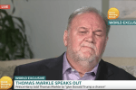 Meghan Markle's Dad Reveals Her Reaction When He Bailed on the Wedding in a Live TV Interview
