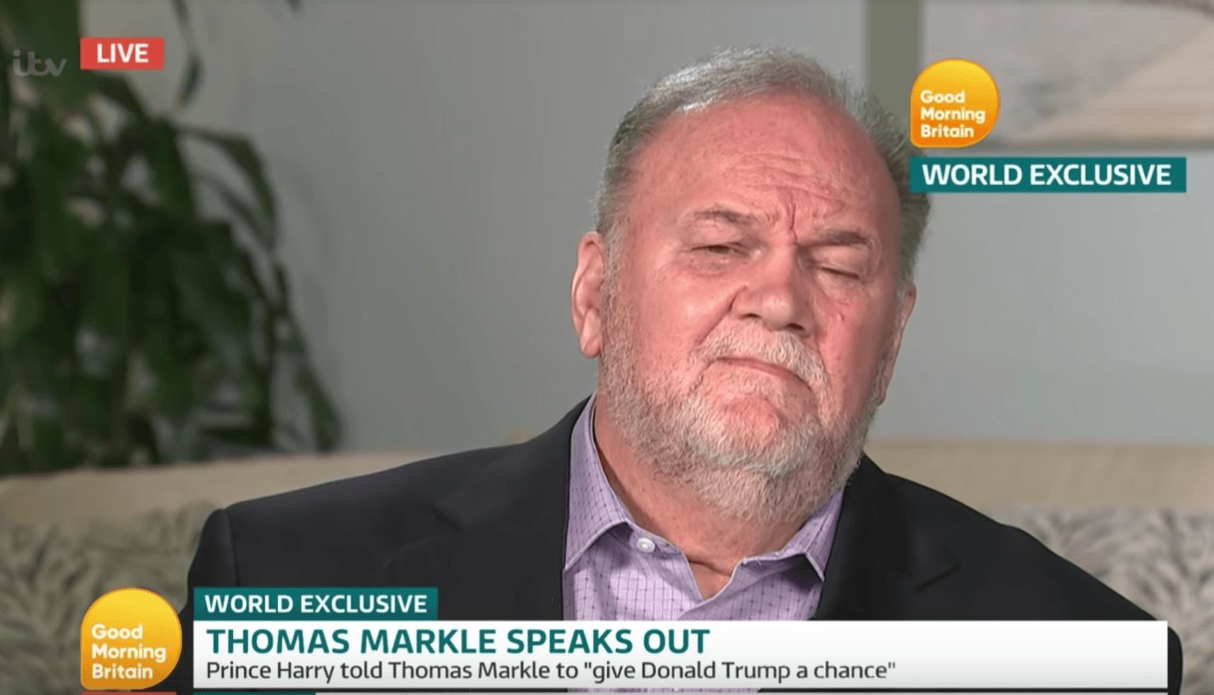 Thomas Markle Harry Trump