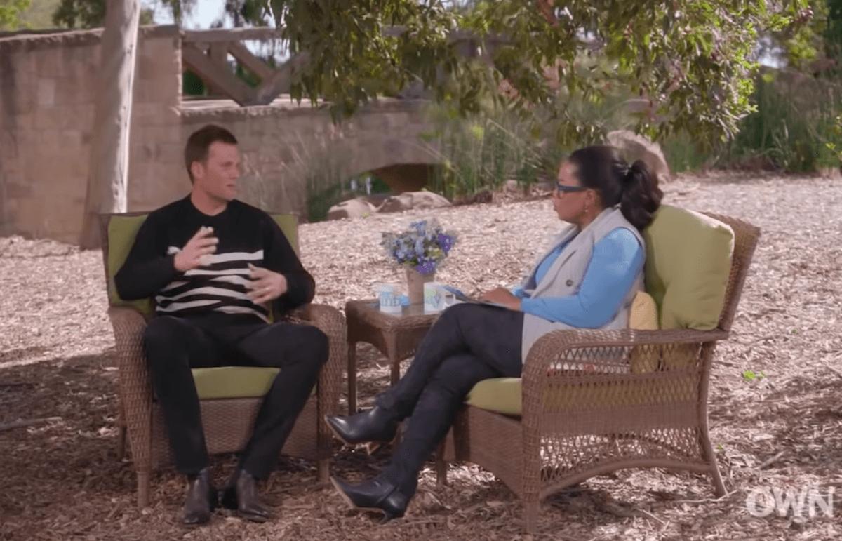 Tom Brady and Oprah