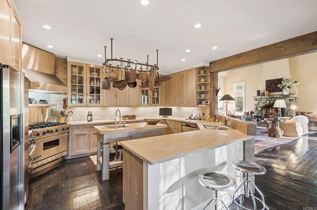 Tom Brokaw kitchen