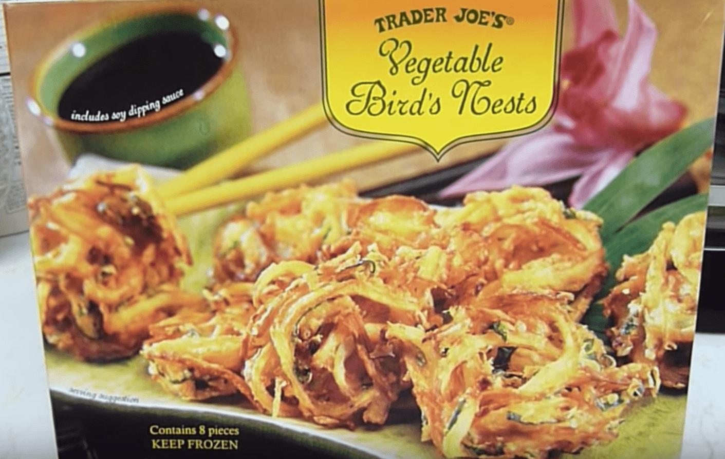 Trader Joe's vegetable bird's nest