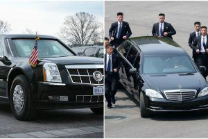 North Korea vs. U.S.: How Kim Jong Un's Mercedes Compares to Donald Trump's Cadillac