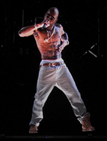 Tupac Shakur hologram at Coachella in 2012