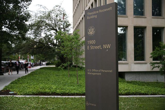 The Theodore Roosevelt Federal Building that houses the Office of Personnel Management headquarters