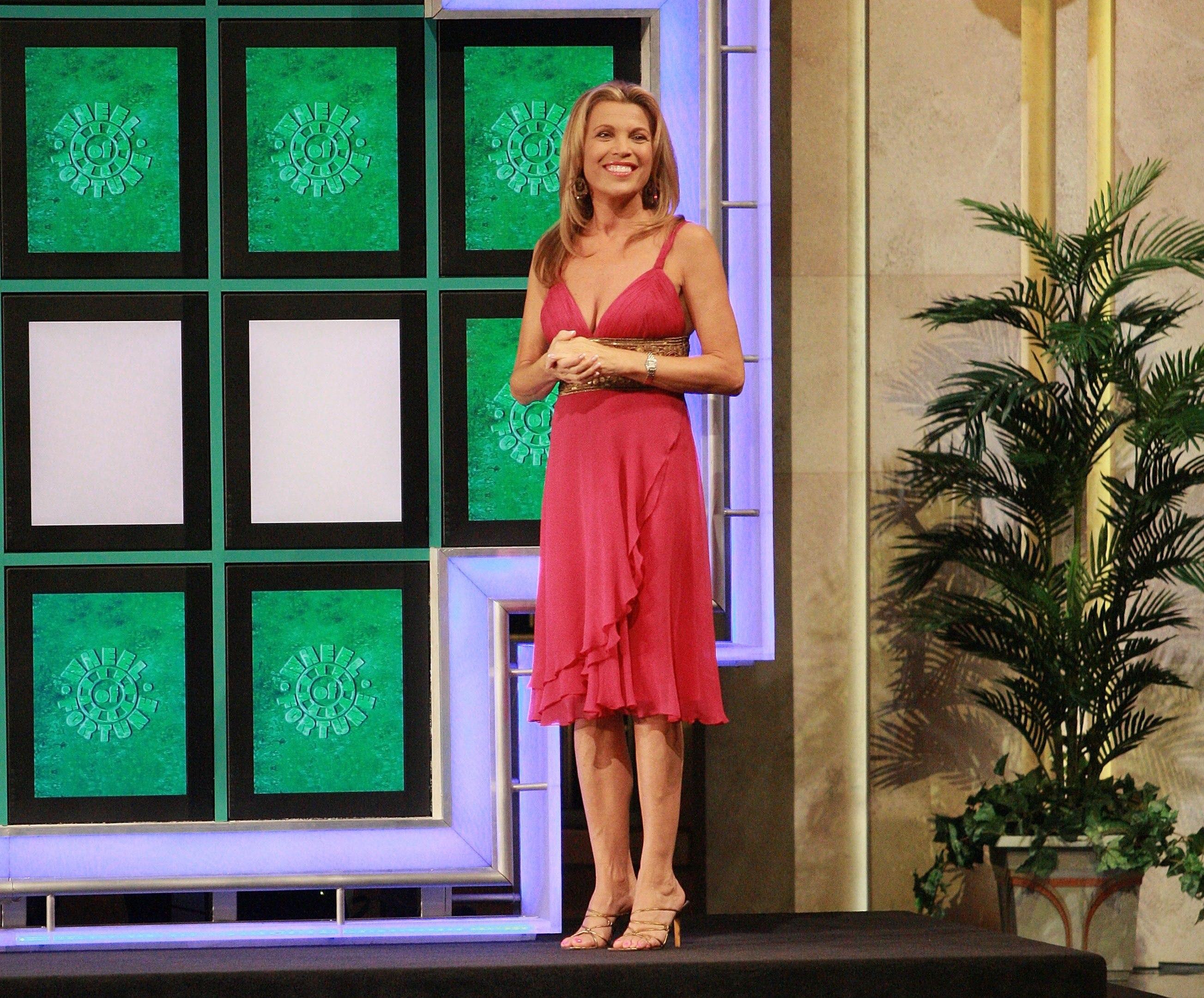 'Wheel Of Fortune' Celebrity Week Vanna White