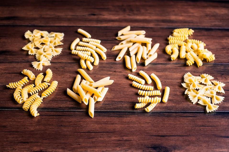 dry Italian pasta