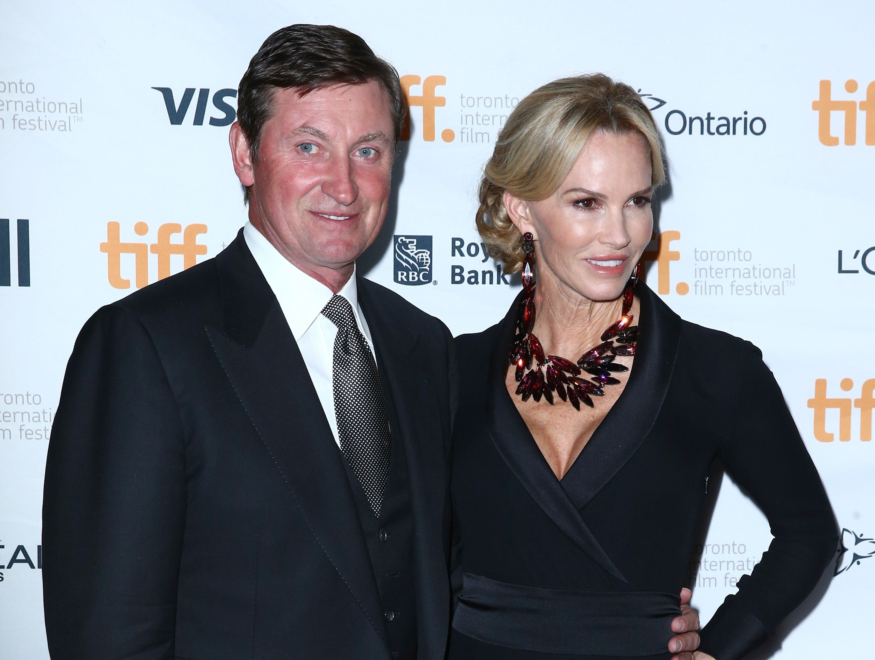 Wayne and Janet Gretzky