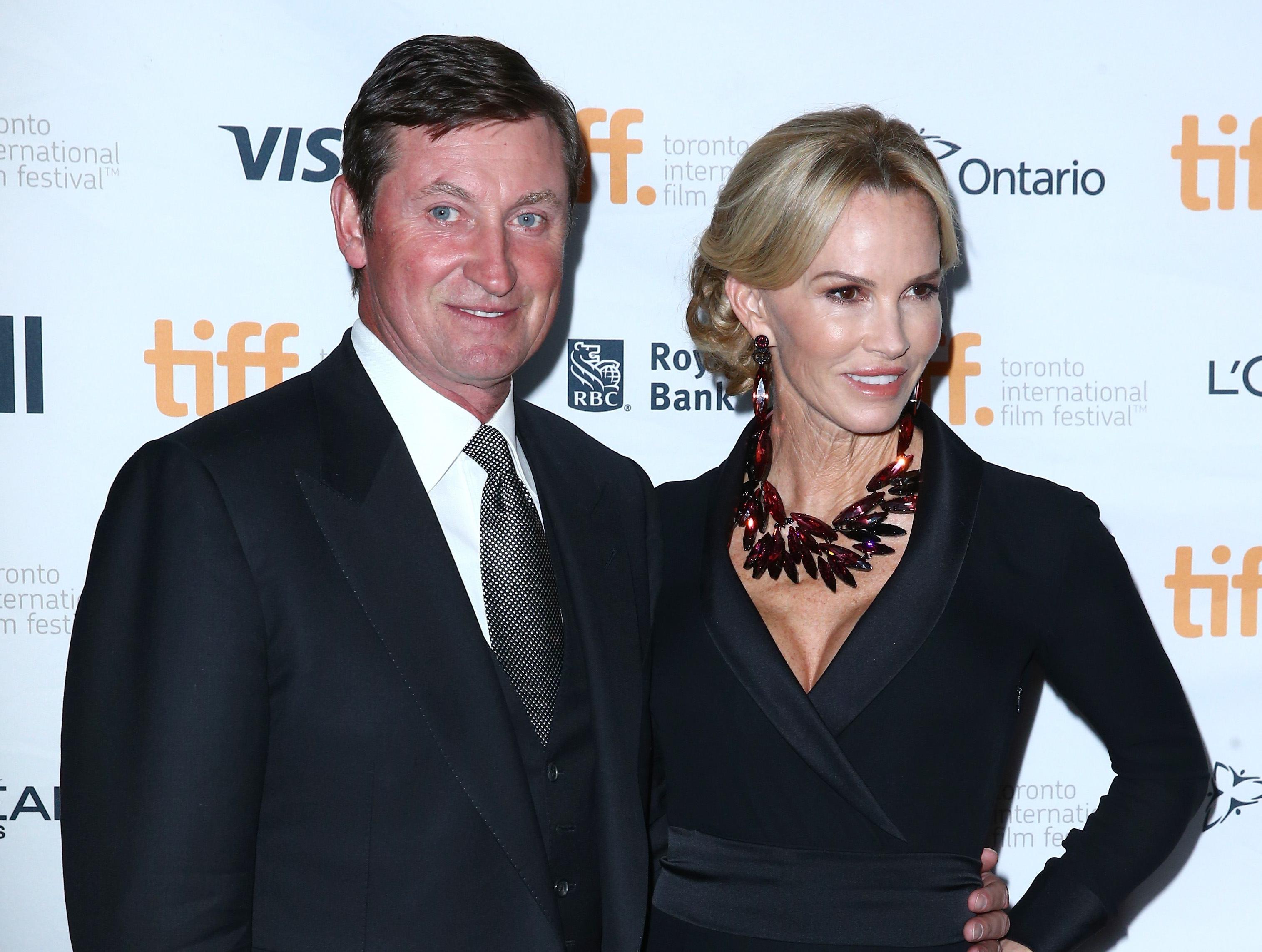 Wayne and Janet Gretzky