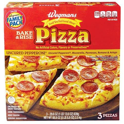 Wegman's pepperoni pizza