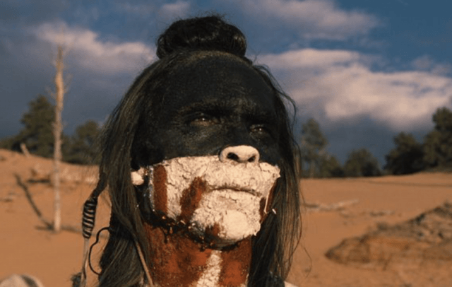 Akecheta looking over a horizon in 'Westworld'.